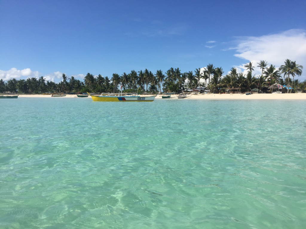 Bantayan Island Beach Turquoise Water Philippines