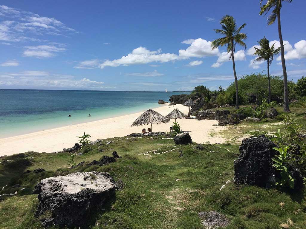 Paradise Beach Bantayan Island Philippines Beach Scenery