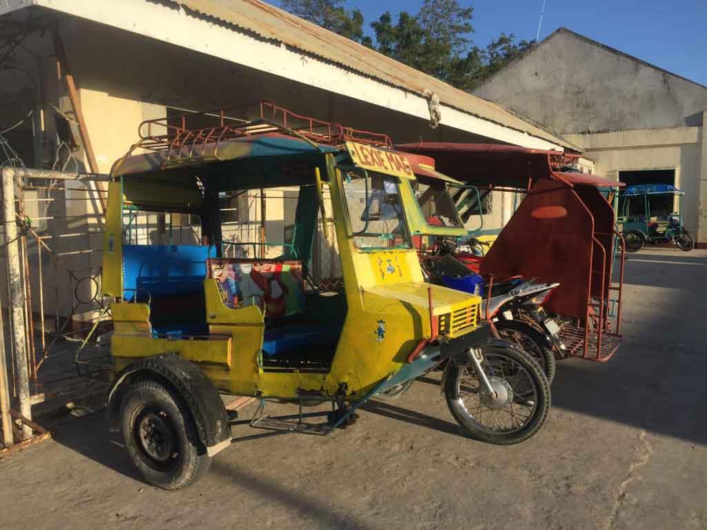 Santa Fe Port Bantayan Island Cebu Philippines Tricycle