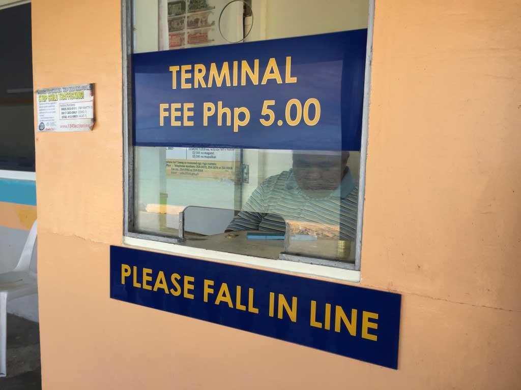 Santa-Fe-Port-Bantayan-Island-Five-Pesos-Terminal-Fee-Waiting-Area