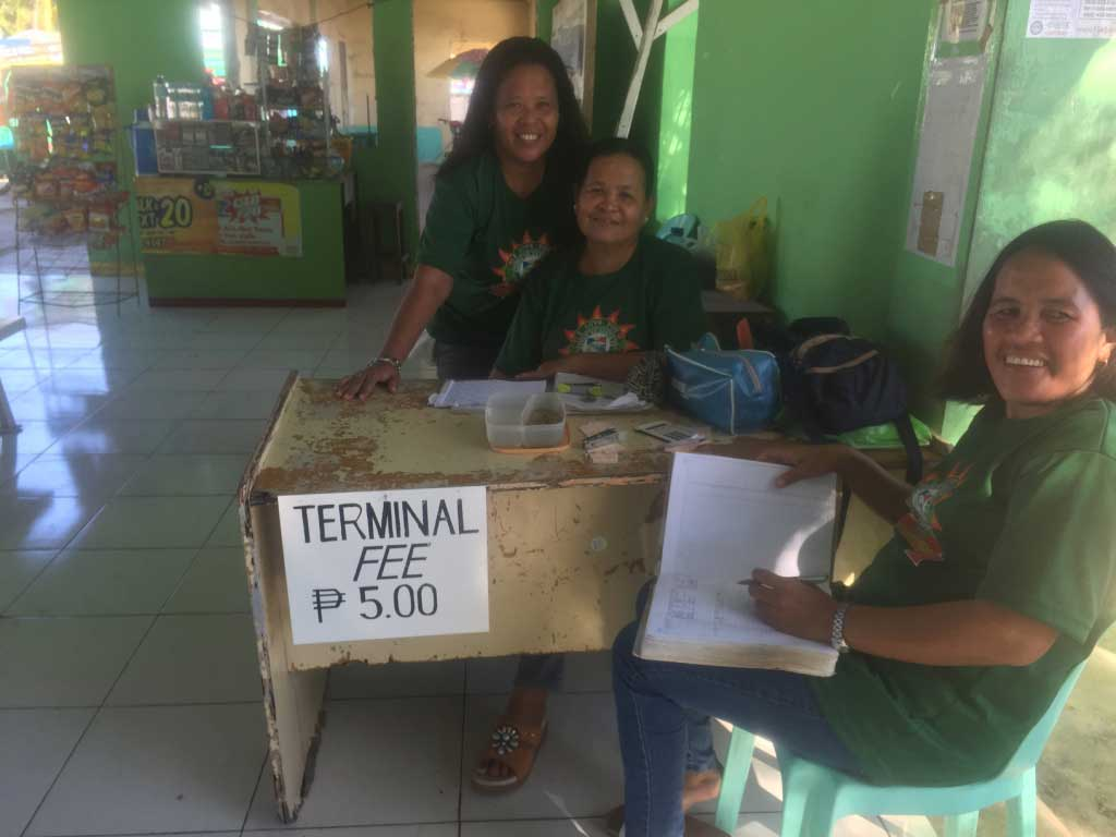 Santa Fe Port Bantayan Island Terminal Fee 10 Pesos